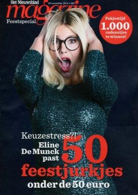 Het Nieuwsblad Magazine Cover