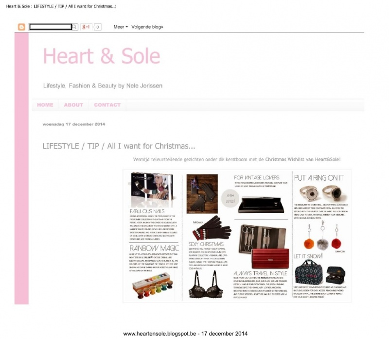 heartensole blogspot be