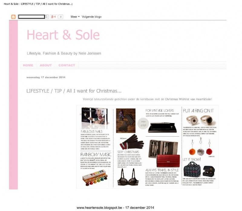 heartensole blogspot be