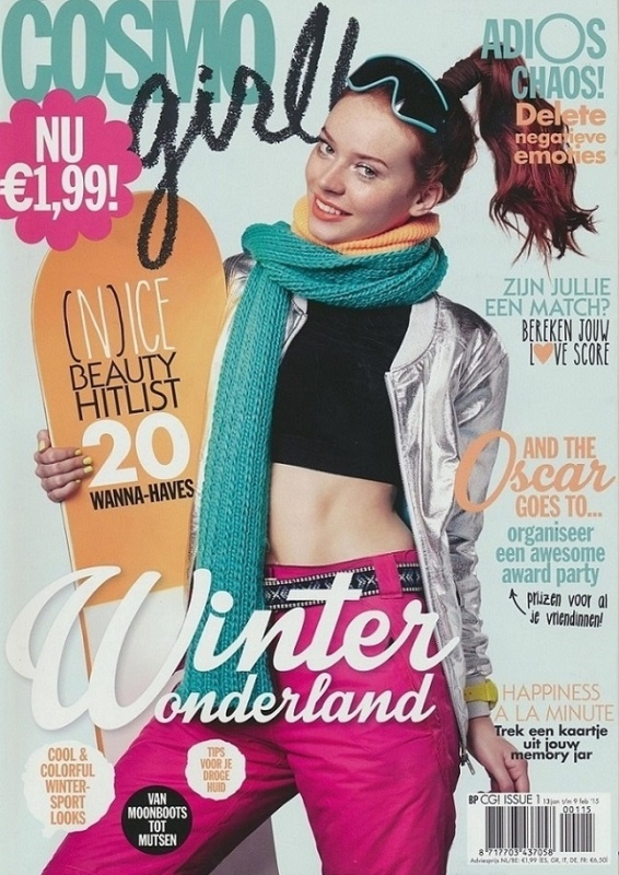 Cover   Nr 1   Cosmo girl