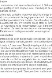 Telegraaf 27 3 2015 Thuiswinkel #2