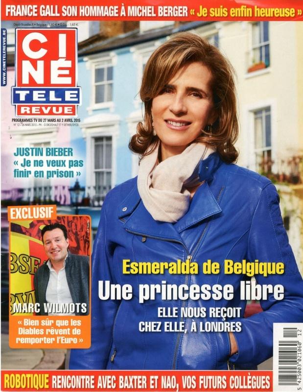 Maart 2015   Cine Télé Revue   Cover