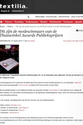 Textillia thuiswinkel awards 2015
