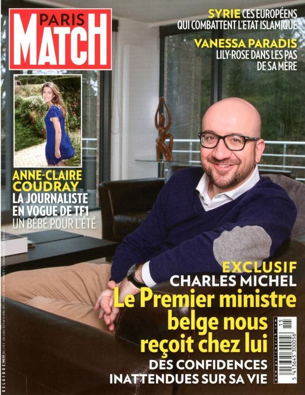 April   Paris Match   Cover