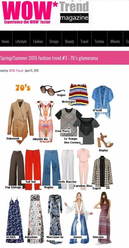 April 2015 Wow Trend Magazine