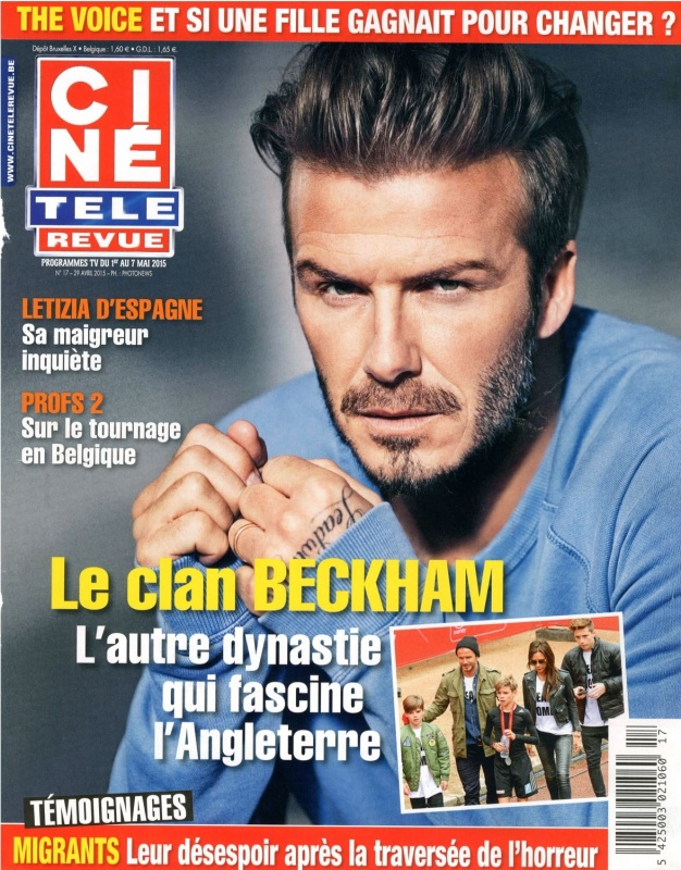 April 2015   Cine Télé Revue   Cover