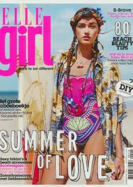 Augustus 2015   ELLE Girl   cover