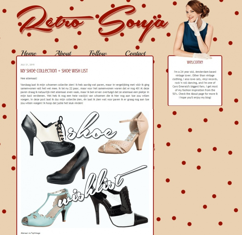 Juli 2015   retro sonja   schoenen
