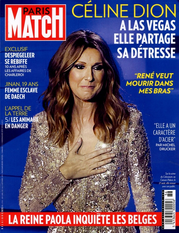 September   Paris Match   Cover