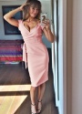 The Pretty Dress Company Luxe Crepe Dust Pink Hourglass Dress 100 22 15354 Beertje van Beers 3