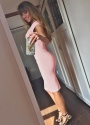 The Pretty Dress Company Luxe Crepe Dust Pink Hourglass Dress 100 22 15354 Beertje van Beers 2