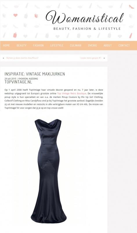 September   womanistical nl   vintage jurken