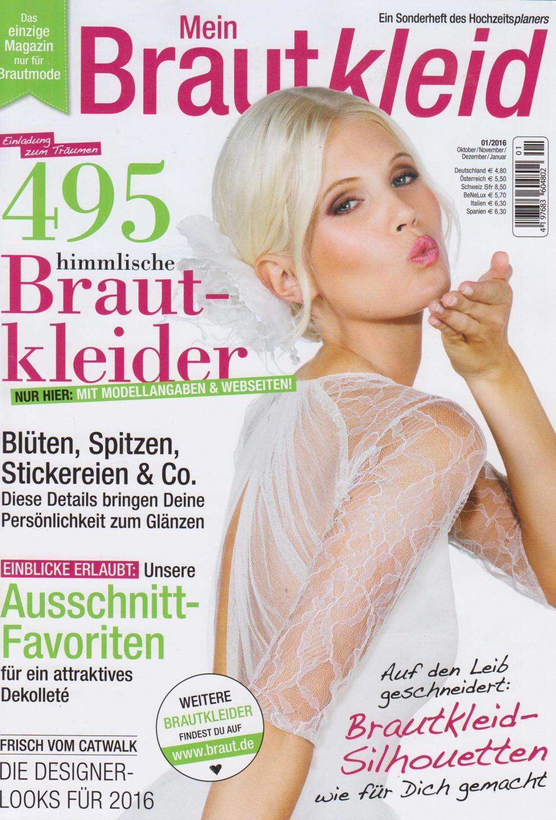 Oktober 2015   Mein Brautkleid   cover
