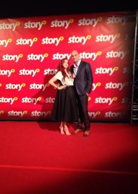 Oktober 2015   Kaat Bollen Story Awards 1