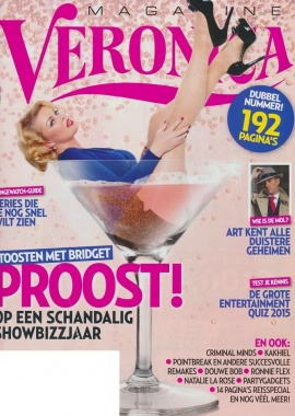 December   Veronica Magazine   cover