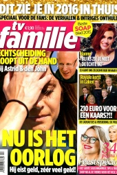 Januari 2016   TV Familie   cover