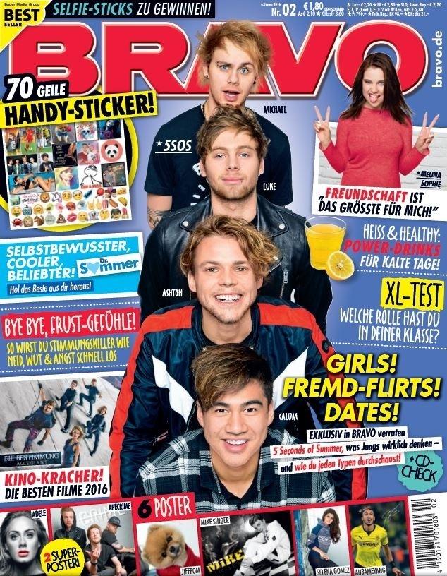Januari 2016   Bravo   cover