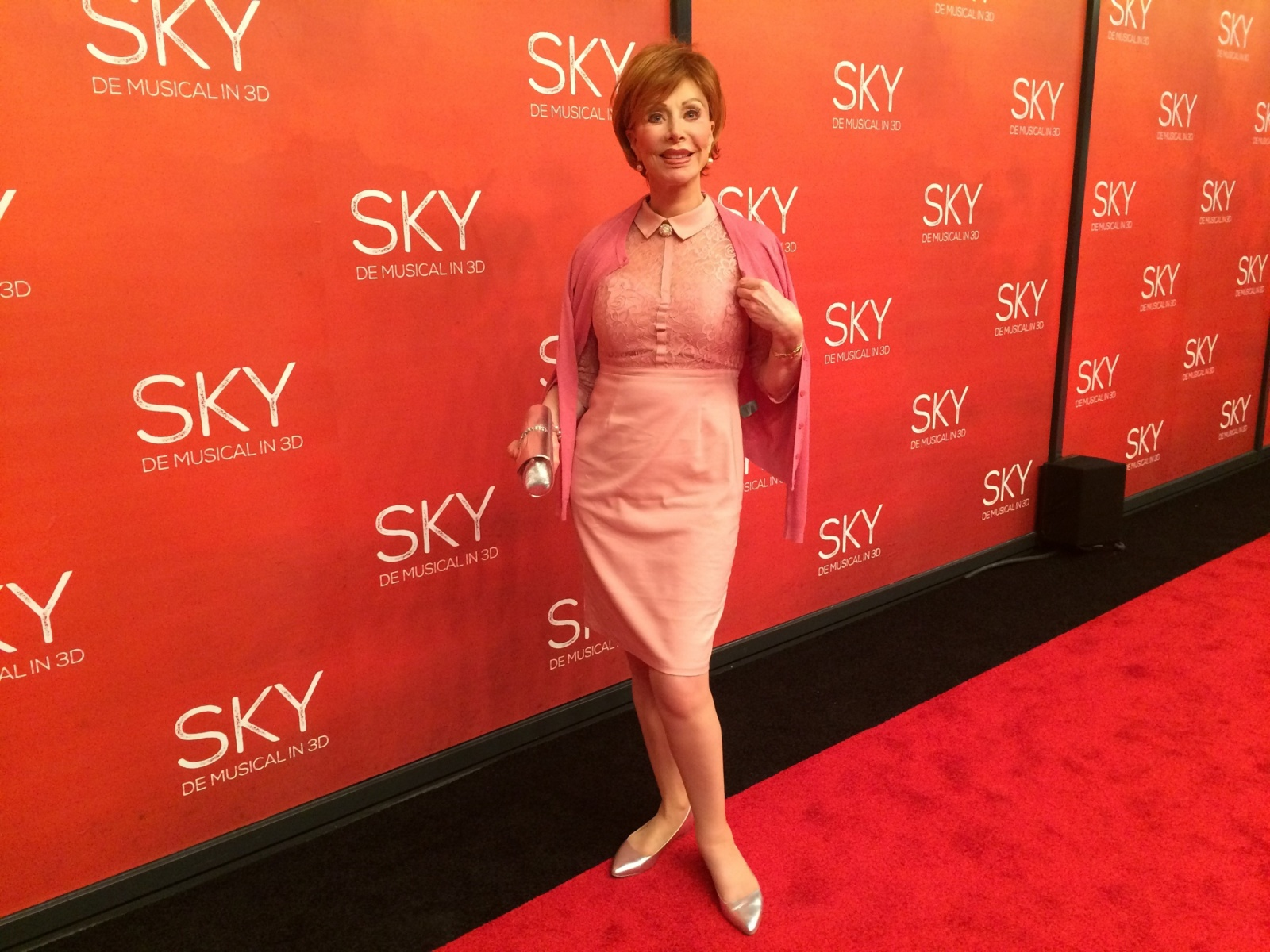 04 04 2016 Marijke Helwegen Premiere SKY the musical