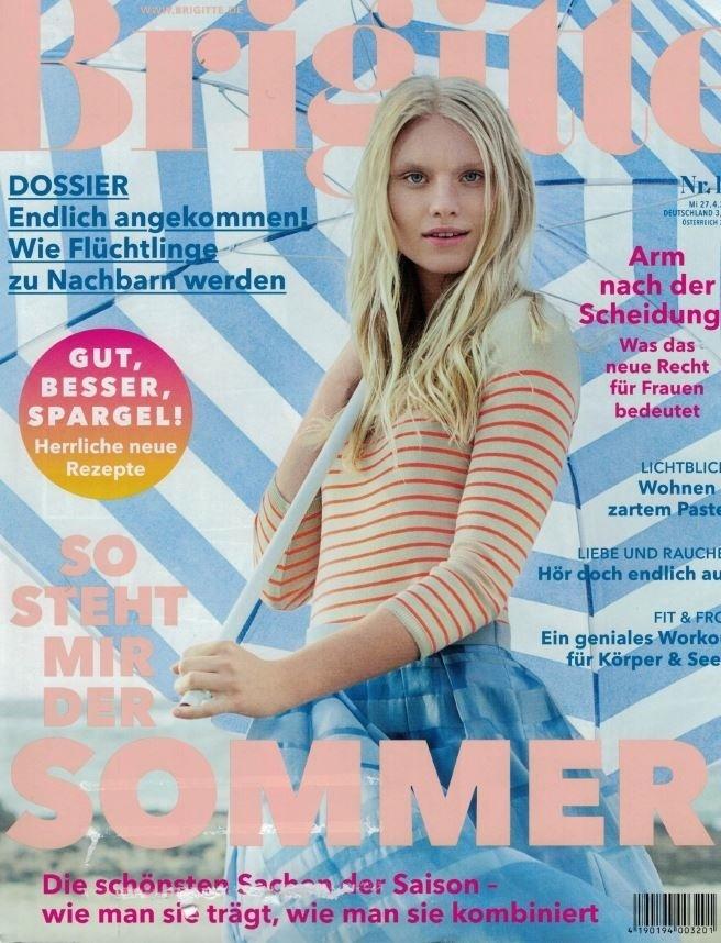 April 2016  Brigitte  cover