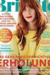 Juni 2016  Brigitte  cover