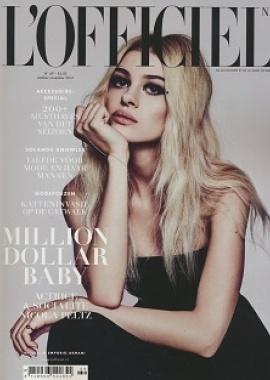 L officiel   oktober 2016 cover