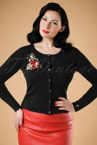 Collectif Clothing Jo Vegas Vamp Cardigan  19038 20160602 1V