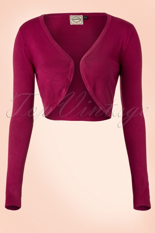Banned  Vintage Bolero in Burgundy 12729 20140305 0006WB
