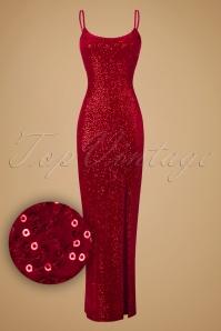 Vintage Chic Velvet Sequin Maxi Dress 102 20 19640 20161031 0009W1