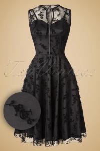Vixen 30s Classy Black Lace Dress 102 10 19492 20161021 0005W1