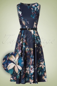 Lady V Lily Blue Dress 102 39 20095 20161010 0005WV