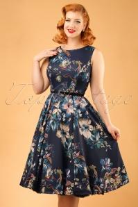 Lady V Lily Blue Dress 102 39 20095 20161010 0011W ModelfotoW