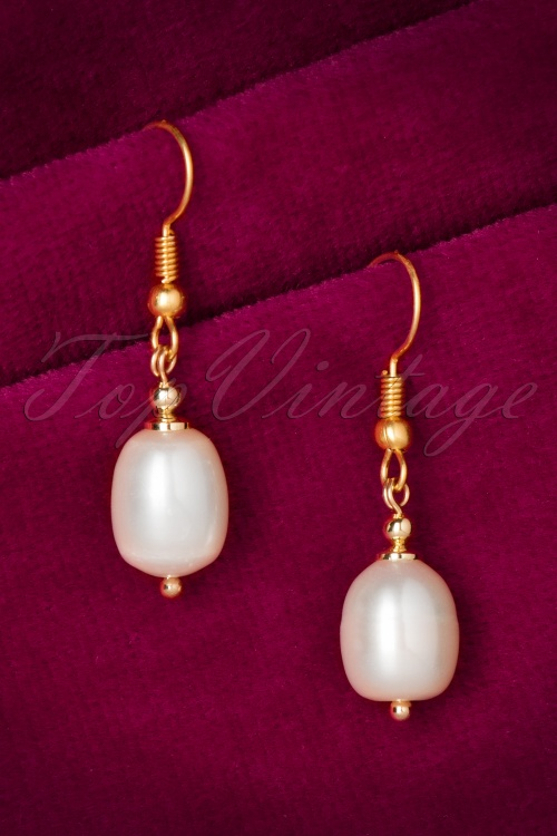 Marilyns Sparkle Gold Pearl Earrings 334 51 20531 11032016 008W