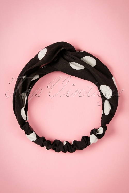 Amici Calinda black hearband 208 14 20548 11102016 002W