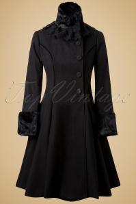 Bunny Angeline Coat in Black 152 10 13446 20140625 0011W