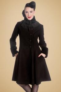 Bunny Angeline Coat in Black 152 10 13446 20140625 1W