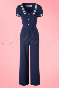Bunny Ambleside Navy Sailor Jumpsuit 133 31 18251 20160324 0011W