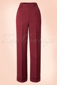 Party On Classy Trousers Années 40 en Bordeaux