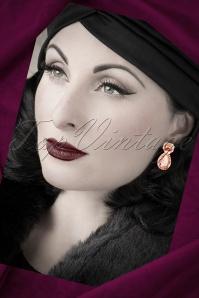 Glamfemme Crystal Gold Earrings 334 91 20299 10192016 20W