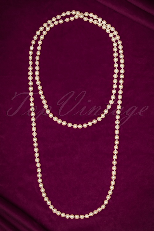 Unique Vintage Pearl Necklace 300 50 20574 11152016 002W