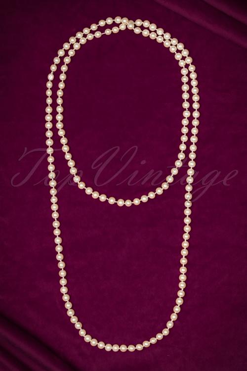 Unique Vintage Pearl Necklace 300 50 20574 11152016 002W