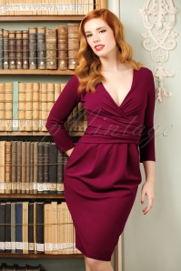 Vintage Chic Fuchsia Pencil Dress 100 22 19612 20160919 0008w