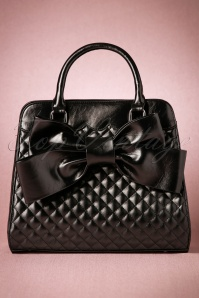 Vixen Black Big Bow Bag 212 10 20584 11212016 011W