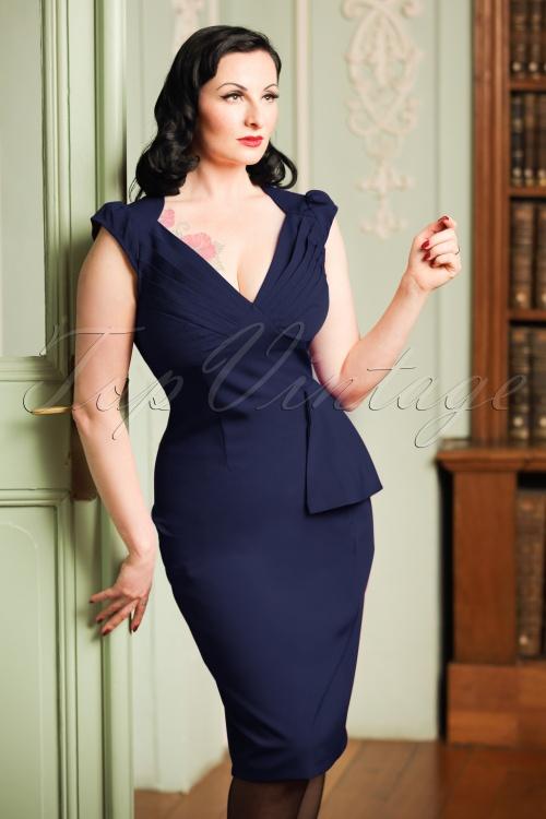 Vixen Red Pencil Dress 102 20 19648 20160913 5W
