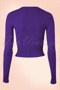 Bunny Purple Basic Cardigan 140 20 20585 20151203 0002W