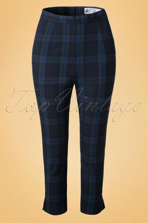 Bunny Livingstone Navy Black Pants 131 39 19577 20161125 0010W