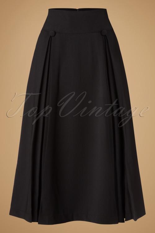 Bunny Kennedy Skirt in Black 122 10 19579 20161124 0003w