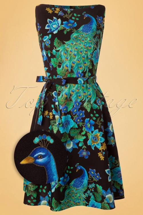 Heart of Haute Monique Dress Peacock 105 14 12947 20140418 0003wv