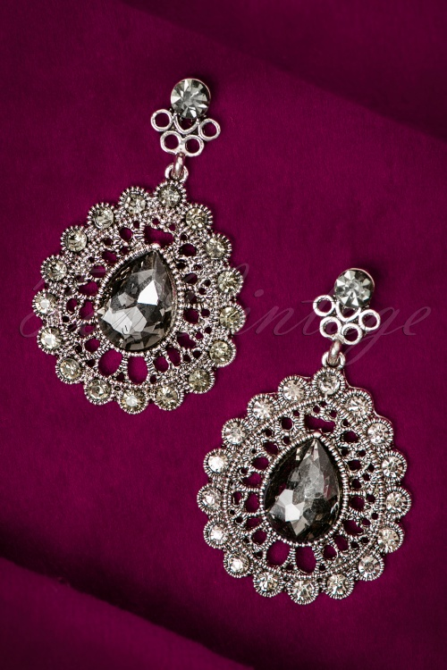 Celestine Silver Diamant Earrings 335 92 20629 11302016 003W