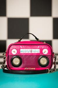 Betsey Johnson Radio bag in Pink 212 22 20564 11292016 007aW