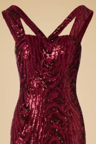 Vintage Chic V Neck Sequin Dress 100 20 20240 20161129 0002V